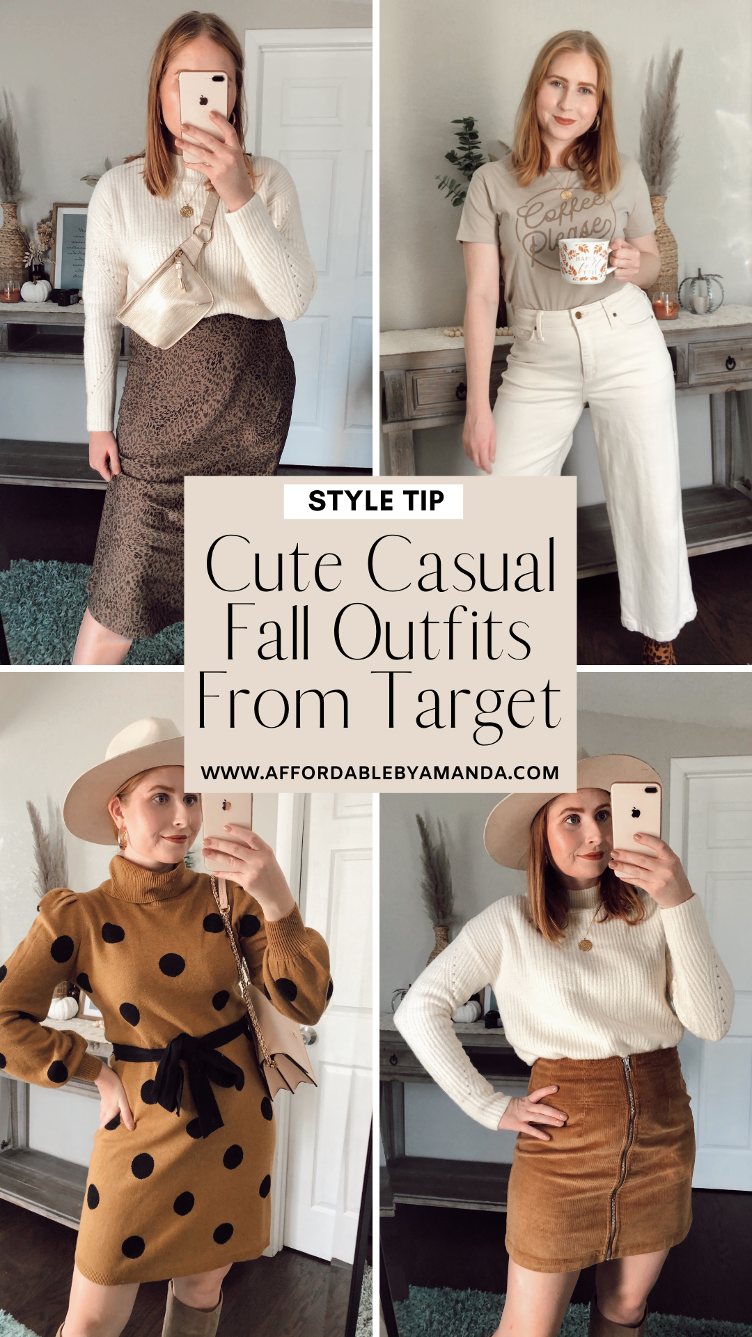 Cute Casual Fall Outfits From Target Affordable By Amanda