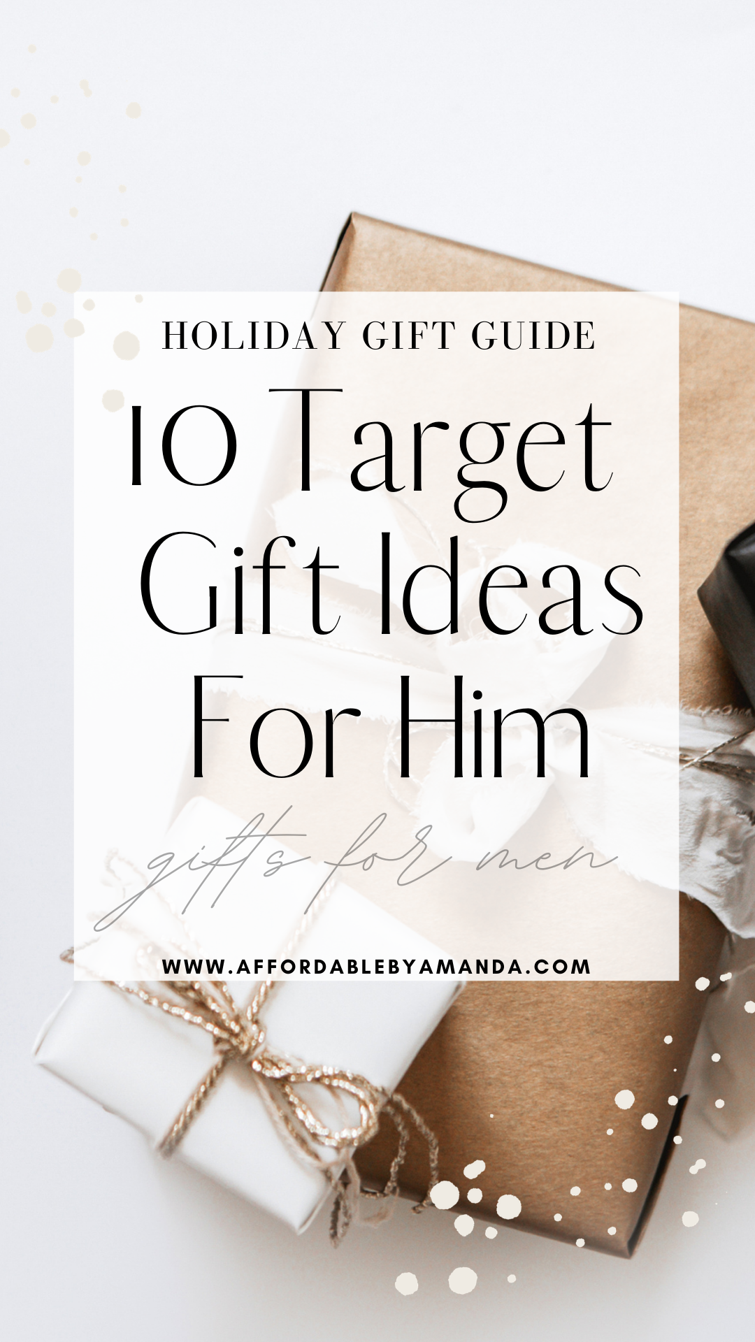 Target Gifts For Him Affordable By Amanda Florida Style Blogger